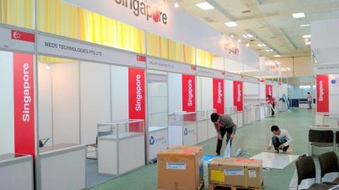 Thiết kế gian hàng hội chợ quốc tế chuyên nghiệp