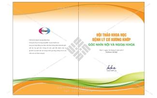 Thiết kế bìa tài liệu hội thảo