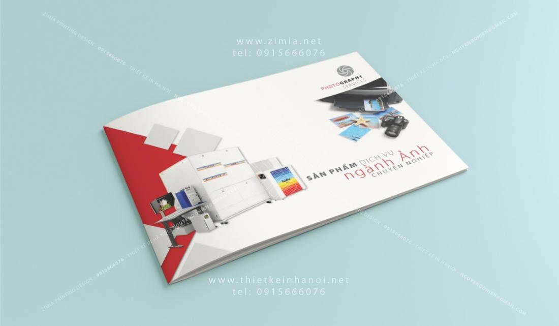 Bìa catalog thiết kế đẹp