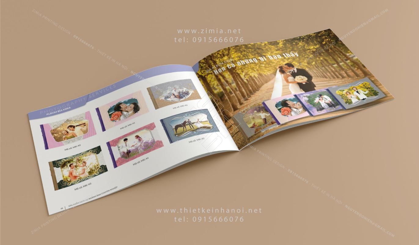 In catalogue tai Ha Noi