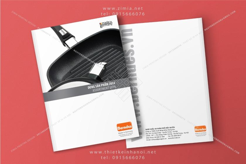 In ấn catalog giới thiệu sản phẩm hàng hóa